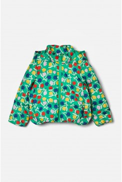 New Blooms Puffer Jacket