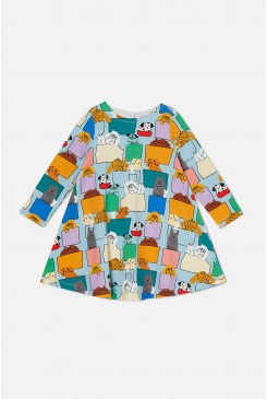 Pup Pocket Jersey Dress