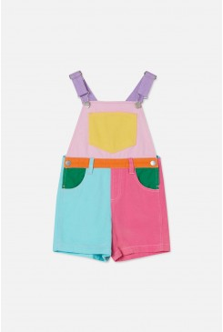 Colour Block Dungarees