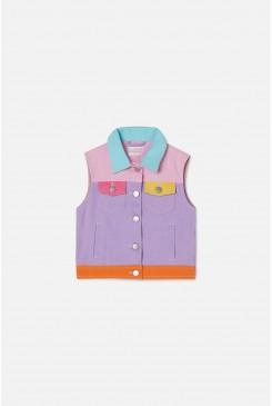 Colour Block Vest