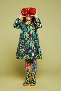 Veggie Pals Wrap Dress