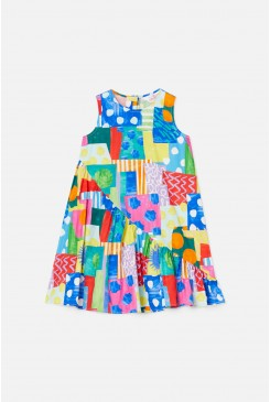 Spotty Blocky Dress