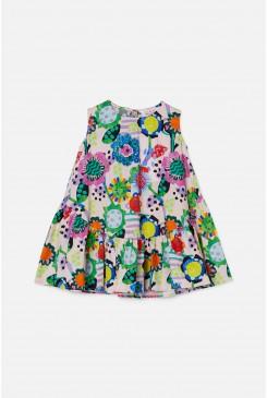 Flower Power Tiered Dress
