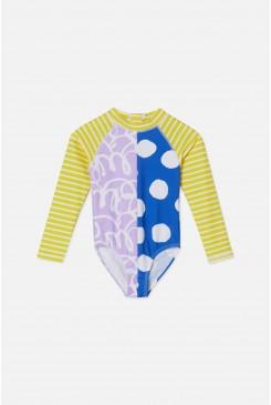 Squiggle Swim Suit