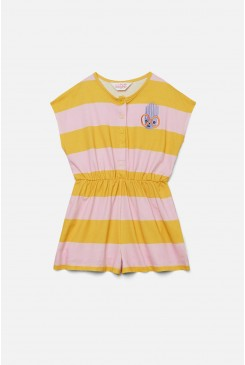 Glasses Guy Stripe Playsuit
