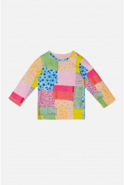 Patch Long Sleeve Baby Tee