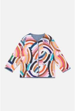 Hey Rainbow Quilted Jacket