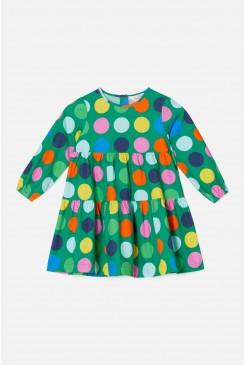Spot The Dot Tiered Dress