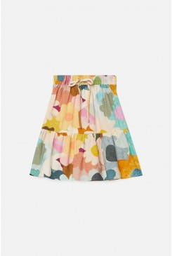 Jumble Garden Tiered Skirt