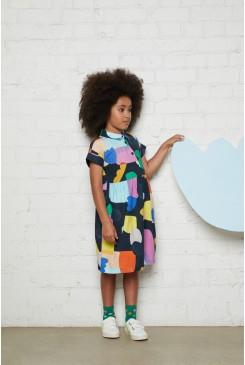 Little Colour Bits Shirt Dress