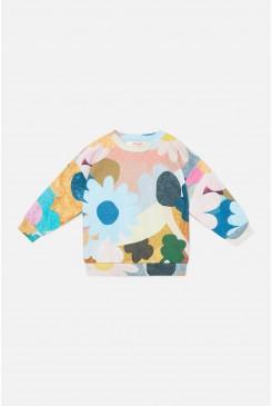 Jumble Garden Baby Sweater
