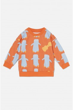 Penguin Party Baby Sweater