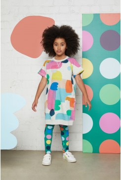 Little Colour Bits Raglan Dress