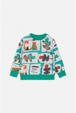 Leaves Sweater