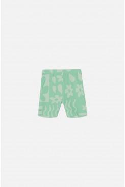 Flower Drop Bike Shorts