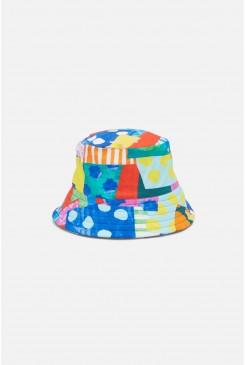 Spotty Blocky Swim Hat