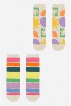 All Sorts Kids 2 Pack Socks