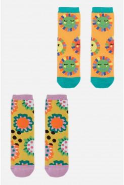 Happy Sun Kids 2 Pack Socks