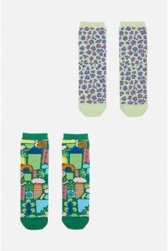 Small Talk Kids 2Pk Socks