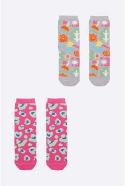Farmers Market Kids2Pk Sock
