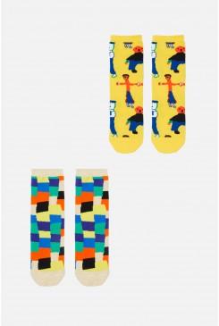 Seven Colours Kids Socks2Pk