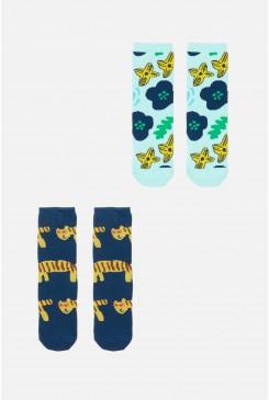 Tiger Kids Socks 2Pk