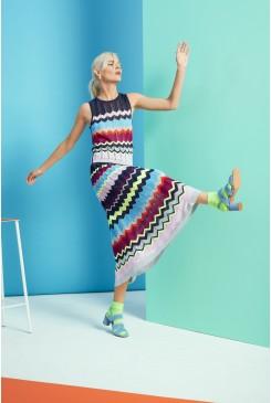 Neon Knit Skirt