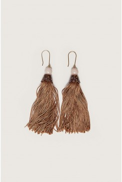 Long Tassel Earring
