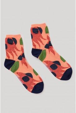 Desert Pea Socks