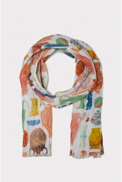 O-Clay Long Scarf