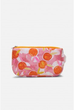 Tossed Orange Toiletry Bag