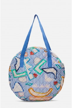 Topsy Turvy Quilted Tote