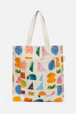 Shape Up Canvas Tote
