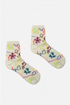 Flowerbomb Socks