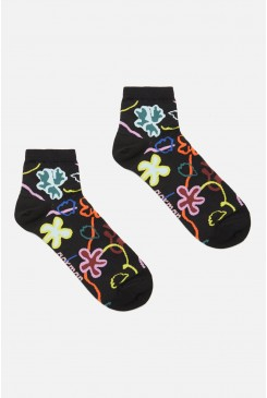 Flowerbomb Ankle Socks