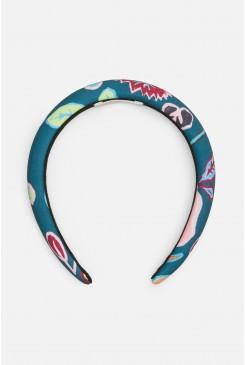 Pitched Petals Headband