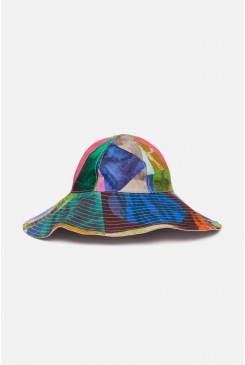 Colour Drop Floppy Hat