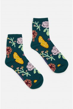 Pitched Petals Sock