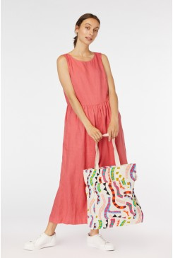 Streamers Canvas Tote