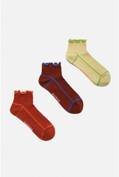 Lettuce Ankle Sock Pack