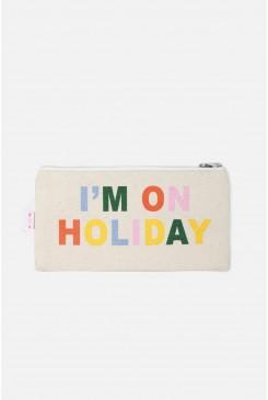 Im On Holiday Zip Purse
