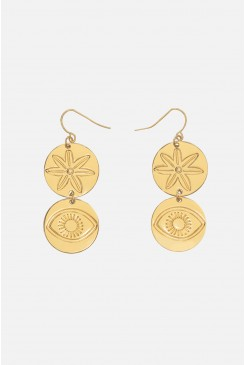 Medallions Earrings