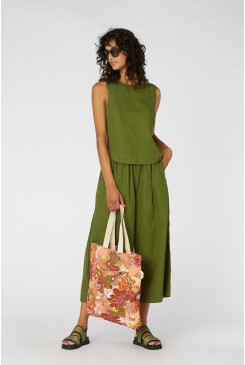 Jungle Boogie Canvas Tote