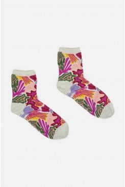 Iris Veins Sock