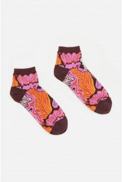 Iris Veins Ankle Sock