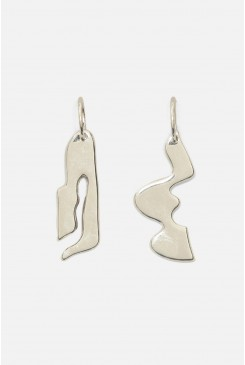 Marcias Maze Hoop Earrings