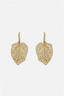 Fallen Leaves Hoop Earrings