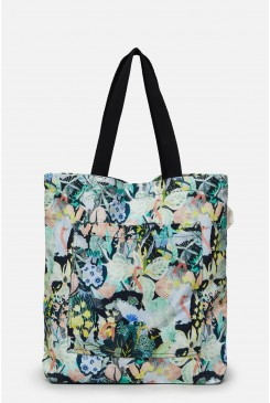 Ostrich Migration Canvas Tote