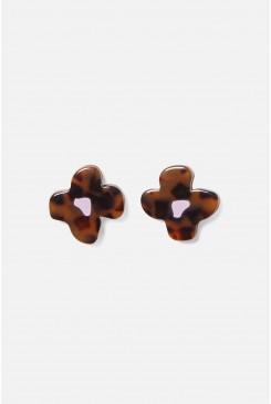 Dizzy Flower Stud Earrings