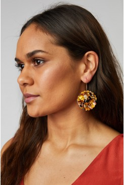 Rock Daisy Earrings
